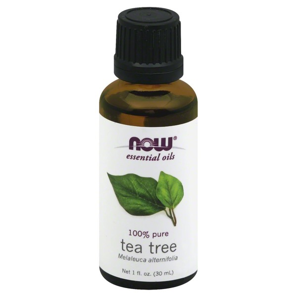 Now Essential Oils, 100% Pure, Tea Tree, Bottle