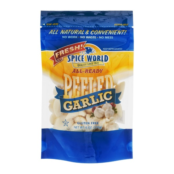 Spice World Garlic Peeled
