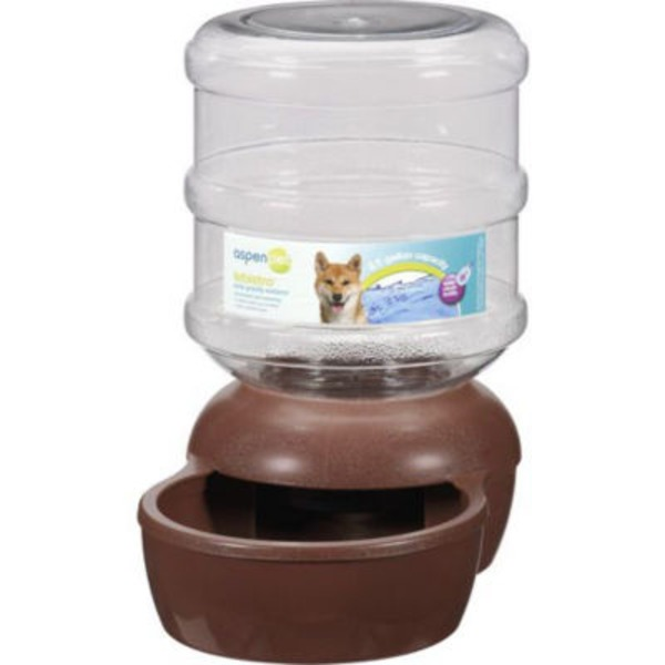 Aspen Pet Brown Le Bistro 2.5 Gal Waterer
