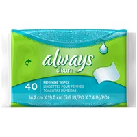 Always Clean Cleansing Cloths Travel Refill Wipes