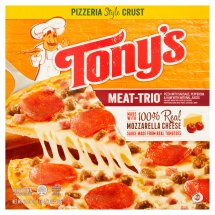 Tony's Meat-Trio Pizza, 20.13 oz