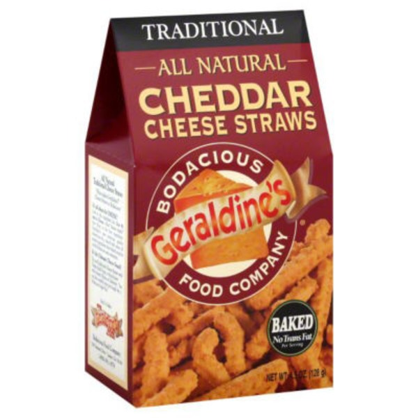 Geraldine's Baked Aged Cheddar Cheese Straws