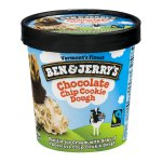 Ben & Jerry's Chocolate Chip Cookie Dough Ice Cream, 1 pint