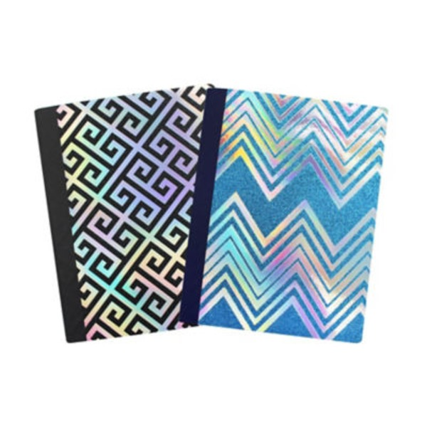 Continental Accessory Keep Calm & Glitter On Composition Notebook, Colors & Patterns May Vary
