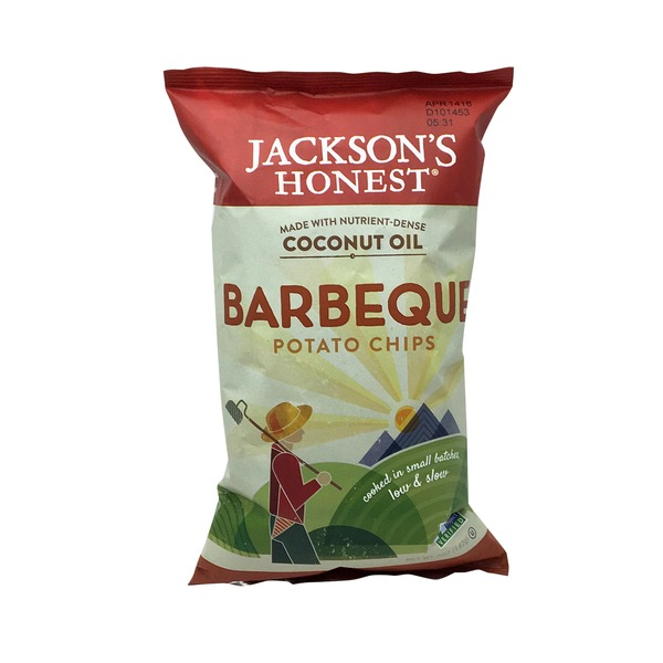 Jackson's Honest Chips Potato Chips Barbeque
