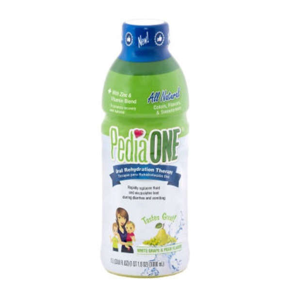 Pedia One White Grape & Pear Oral Rehydration Therapy
