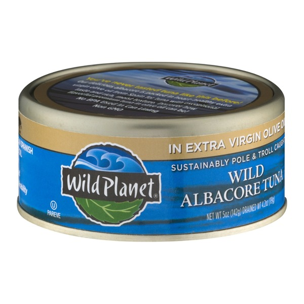 Wild Planet Albacore Wild Tuna In Extra Virgin Olive Oil