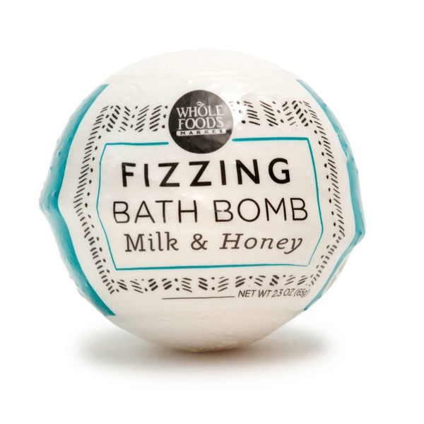 Whole Foods Market Milk & Honey Fizz Bath Bomb