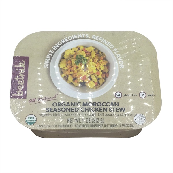Beetnik Moroccan Seasoned Chicken Stew, Organic