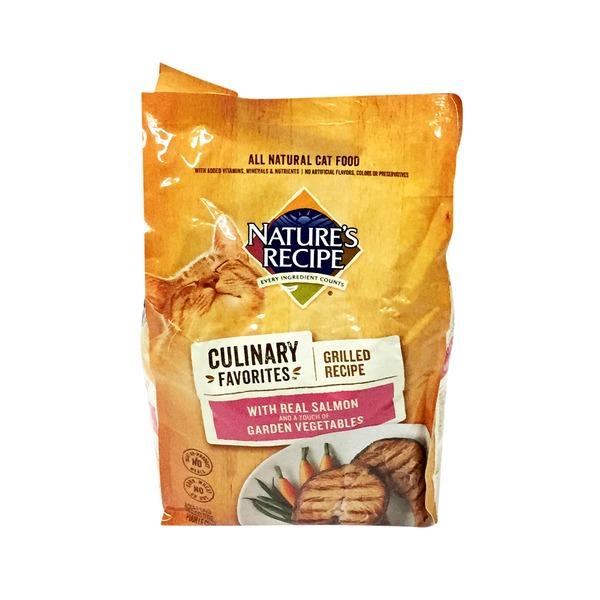 Natural Balance Culinary Favorites with Real Salmon Cat food