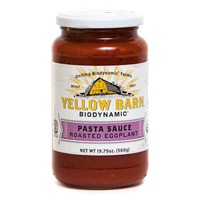 Yellow Barn Biodynamic Organic Roasted Eggplant Pasta Sauce