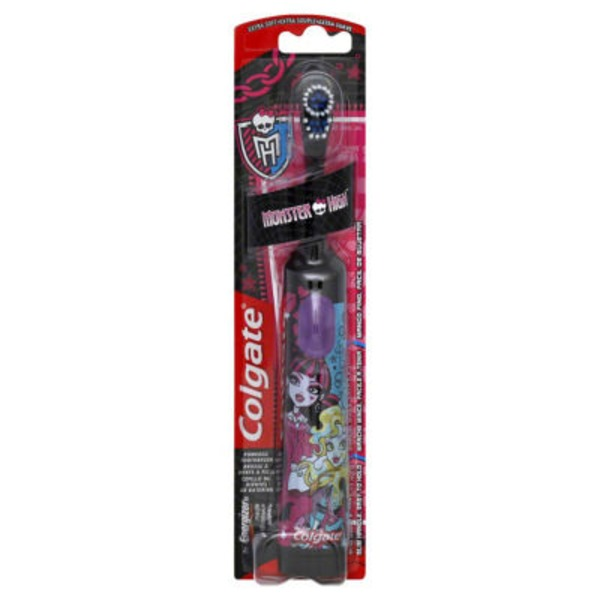 Colgate Toothbrush, Monster High, Extra Soft, Blister Pack