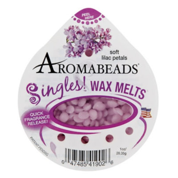 Aromabeads Singles Wax Melts Soft Lilac Petals
