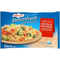 Birds Eye Steamfresh Chef's Favorites Lightly Sauced Rotini & Vegetables with Oven Roasted Garlic Butter Sauce