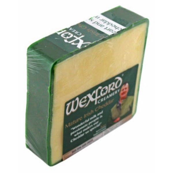Wexford Irish Green Wax Cheddar