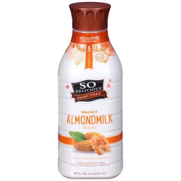 So Delicious Dairy Free Walnut Almondmilk Blend