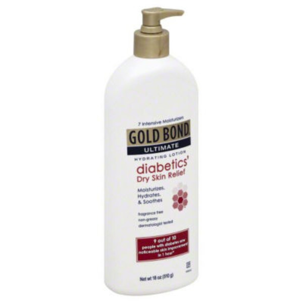 Gold Bond Hydrating Lotion, Diabetics' Dry Skin Relief