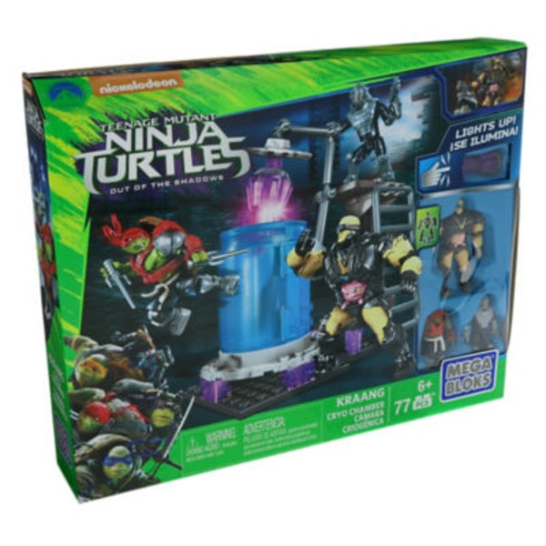 Mega Bloks Teenage Mutant Ninja Turtles Out Of The Shadows Cryo Chamber