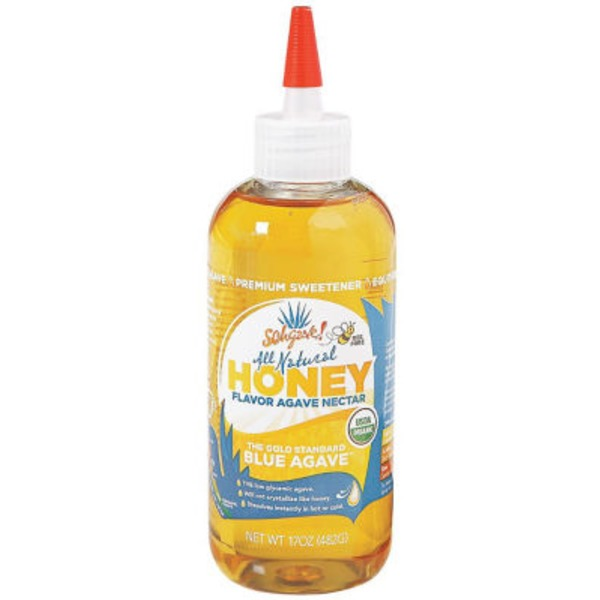 Sohgave! All Natural Blue Agave Nectar Honey Flavor