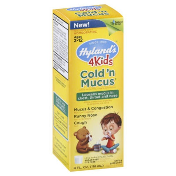 Hyland's 4 Kids Cold 'n Mucus Ages 2-12