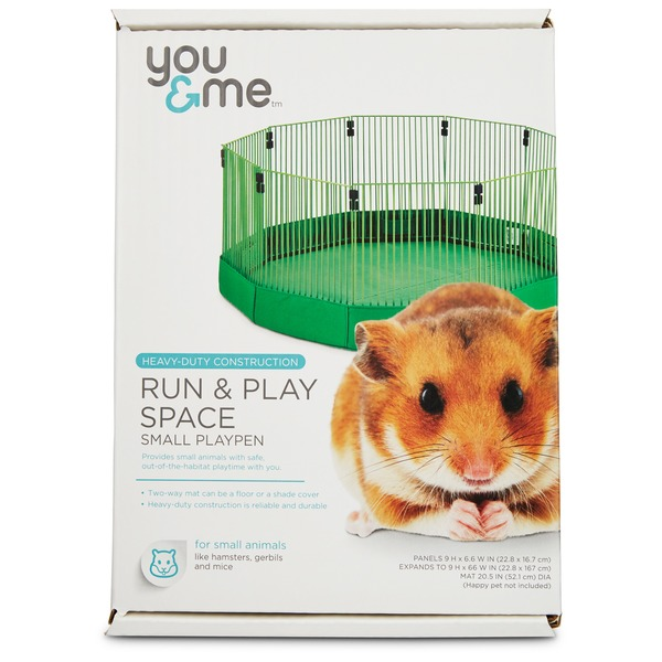 You & Me Run & Play Space Small Animal Playpen Small