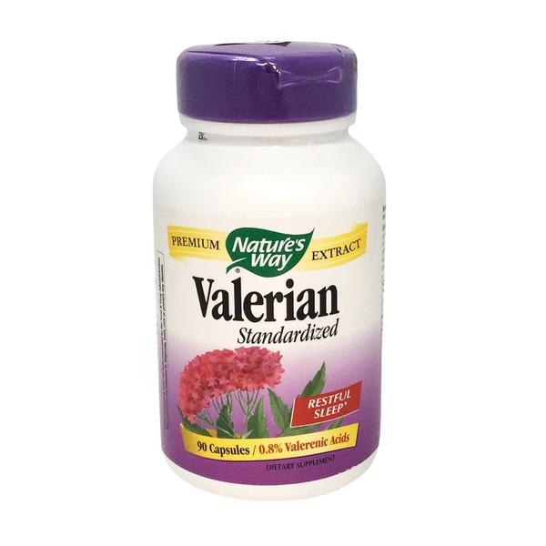 Nature's Way Standardized Valerian - 90 CT