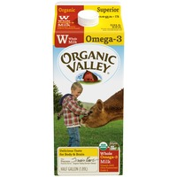 Organic Valley Superior Whole Omega-3 Organic Milk