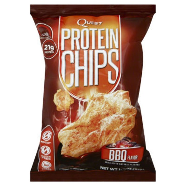 QuestBar Protein Chips, BBQ Flavor