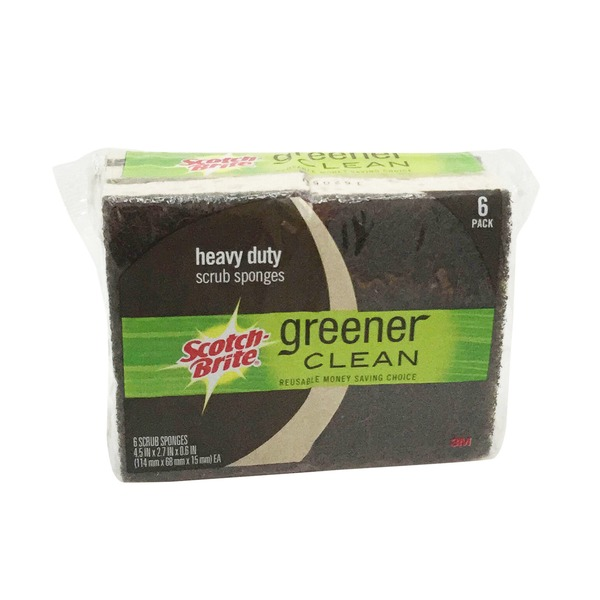 Scotch-Brite Greener Clean Heavy Duty Scrub Sponge