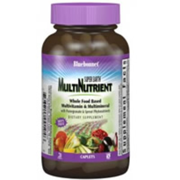 Bluebonnet Super Earth Multinutrient Whole Food Based Multivitamin And Multiminreral
