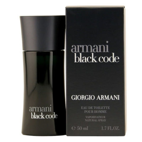 Giorgio Armani Black Code Eau De Toilette Spray For Men