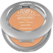 L'Oreal Paris True Match Super-Blendable Powder, W4.5 Fresh Beige, 0.33 oz