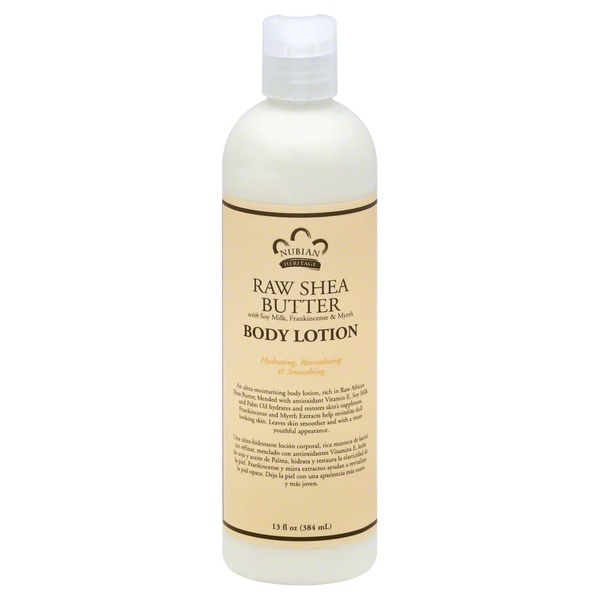 Nubian Heritage Nubian Raw Shea Butter Body Lotion
