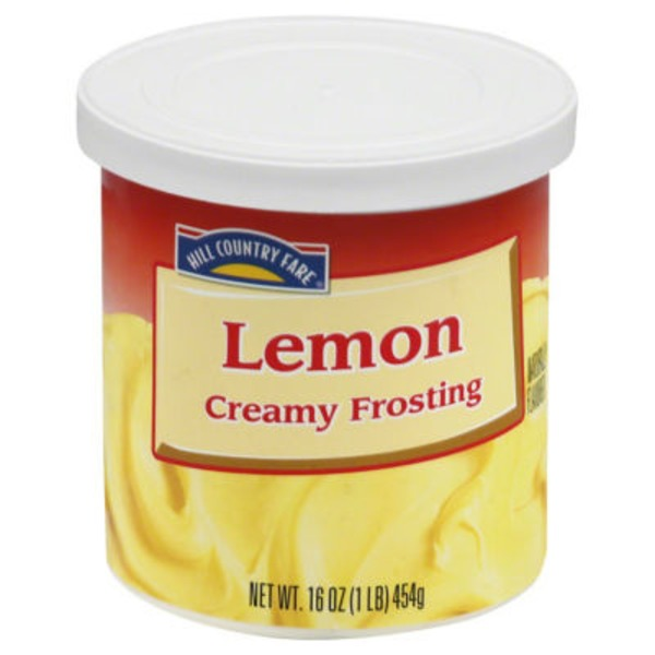Hill Country Fare Lemon Creamy Frosting