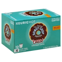 The Original Donut Shop Coffee K-Cup Pods Dark Roast Dark - 12