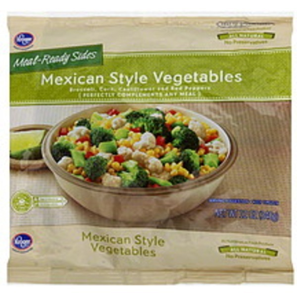 Kroger Vegetables Mexican Style