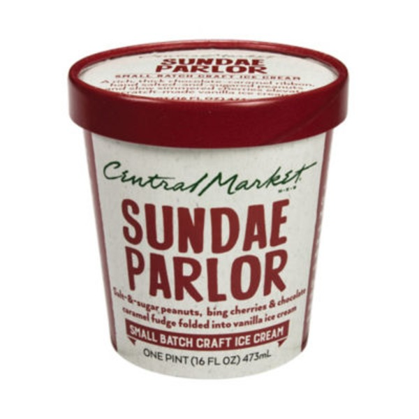 Central Market Sundae Parlour Ice Cream