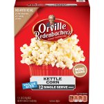 Orville Redenbacher's Kettle Korn Microwave Popcorn, Single Serve Bag, 12-Count