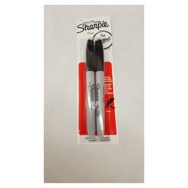 Sharpie The Original Fine Permanent Marker - 2 CT