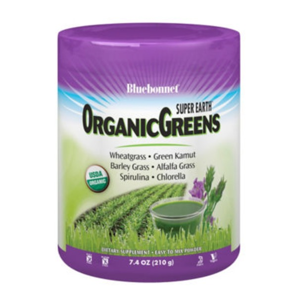 Bluebonnet Super Earth OrganicGreens Powder