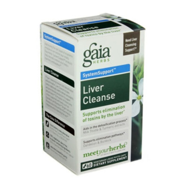 Gaia Herbs Liver Cleanse Capsules
