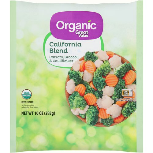 Great Value Organic Calif Blend