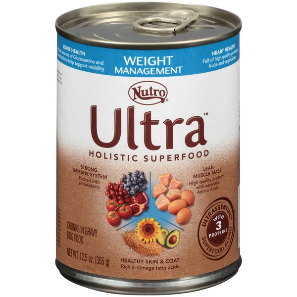 Nutro Ultra Weight Management Chunks in Gravy Adult Dog Food