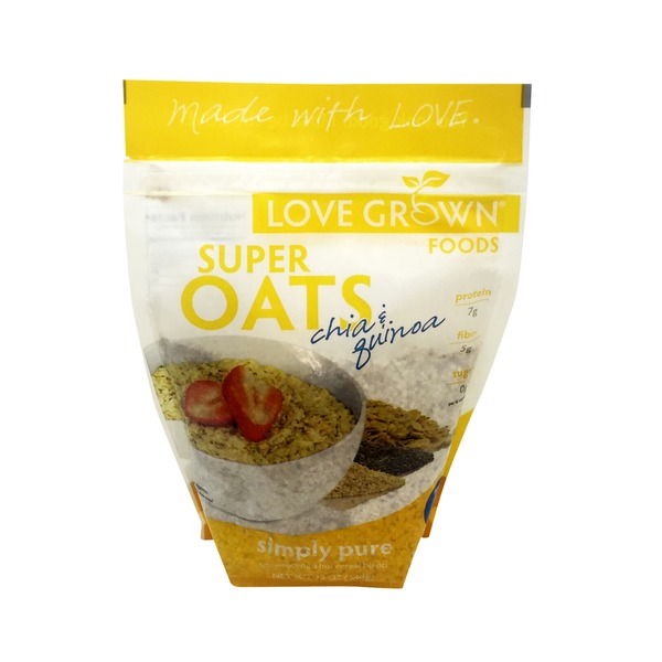 Love Grown Simply Pure Chia Hot Cereal Blend