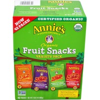 Annie's Homegrown Organic Bunny Variety Pack Fruit Snacks