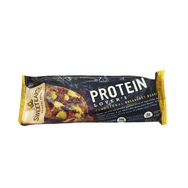 Sweet Earth Protein Lovers Breakfast Burrito