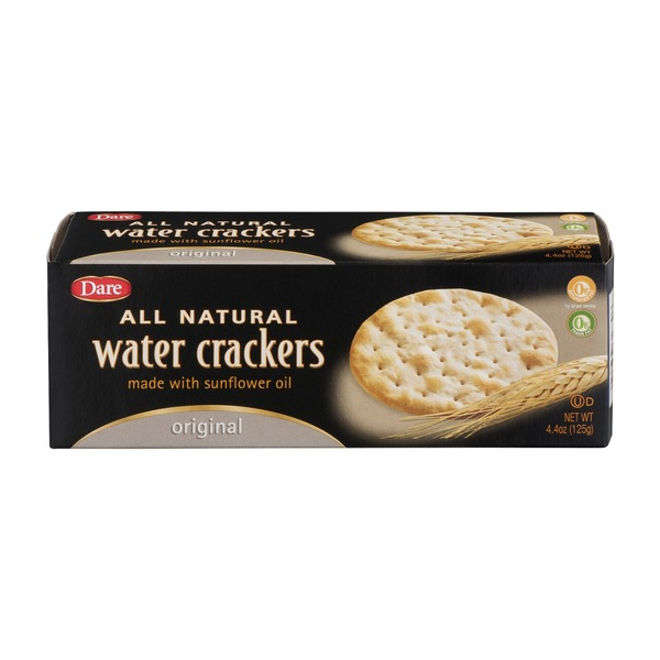 Dare Water Crackers Original All Natural