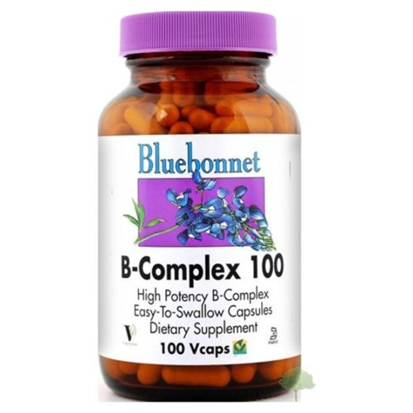 Bluebonnet B Complex 100 High Potency Vegetarian