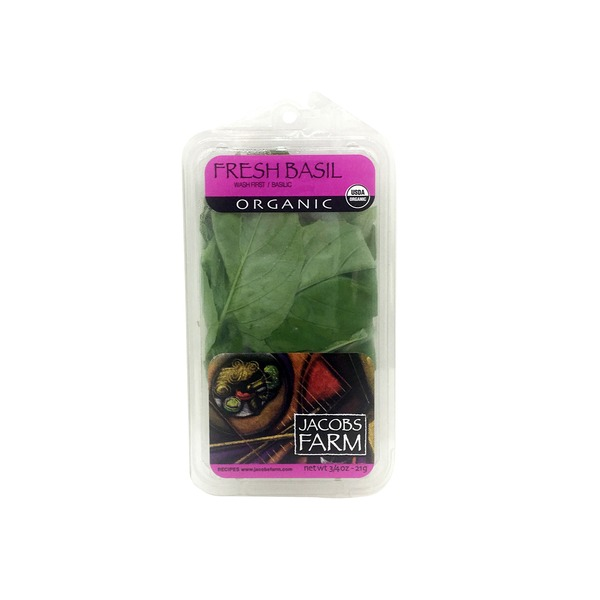 Jacob's Farm Organic Basil