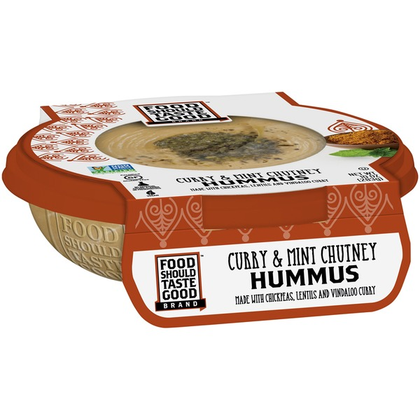 Food Should Taste Good Curry & Mint Chutney Hummus